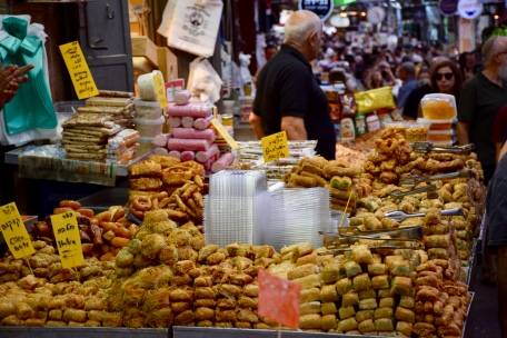 Mahane Yehuda Sweet Treats