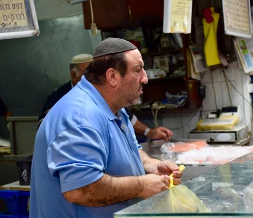 Mahane Yehuda Fishmonger