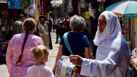 Cultural Potpourri in Muslim Quarter