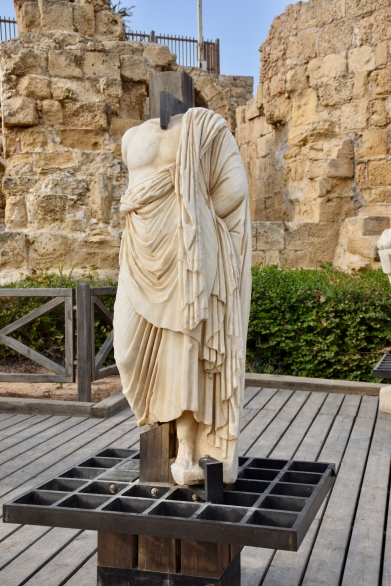Statue at Caesarea
