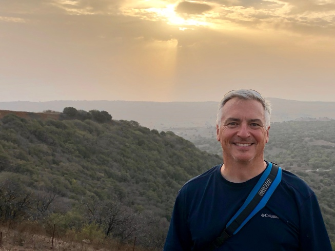 Sunset in Golan Heights