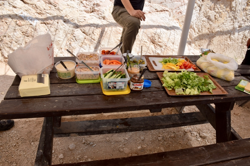 Field Study Lunch at Herodium