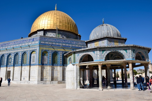Dome of the Rock with Initial Model